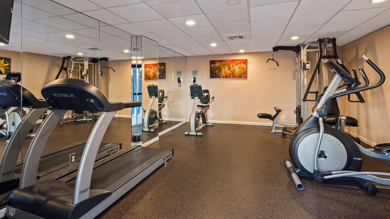 Fitness/ Exercise Room - Best Western Plus Irvine Spectrum Hotel Lake Forest