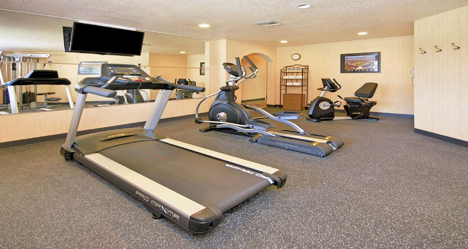 Fitness/ Exercise Room - Best Western San Dimas Hotel & Suites