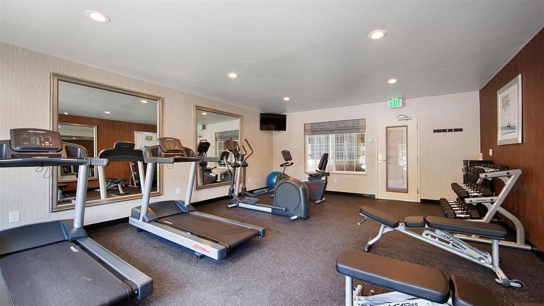 Fitness/ Exercise Room - Best Western Santa Clara University Inn