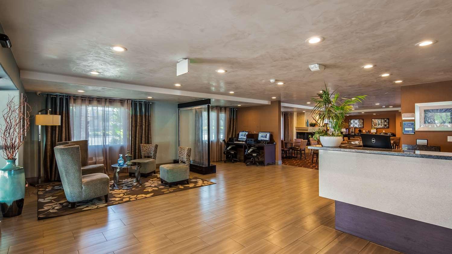 Lobby - Best Western Santa Clara University Inn