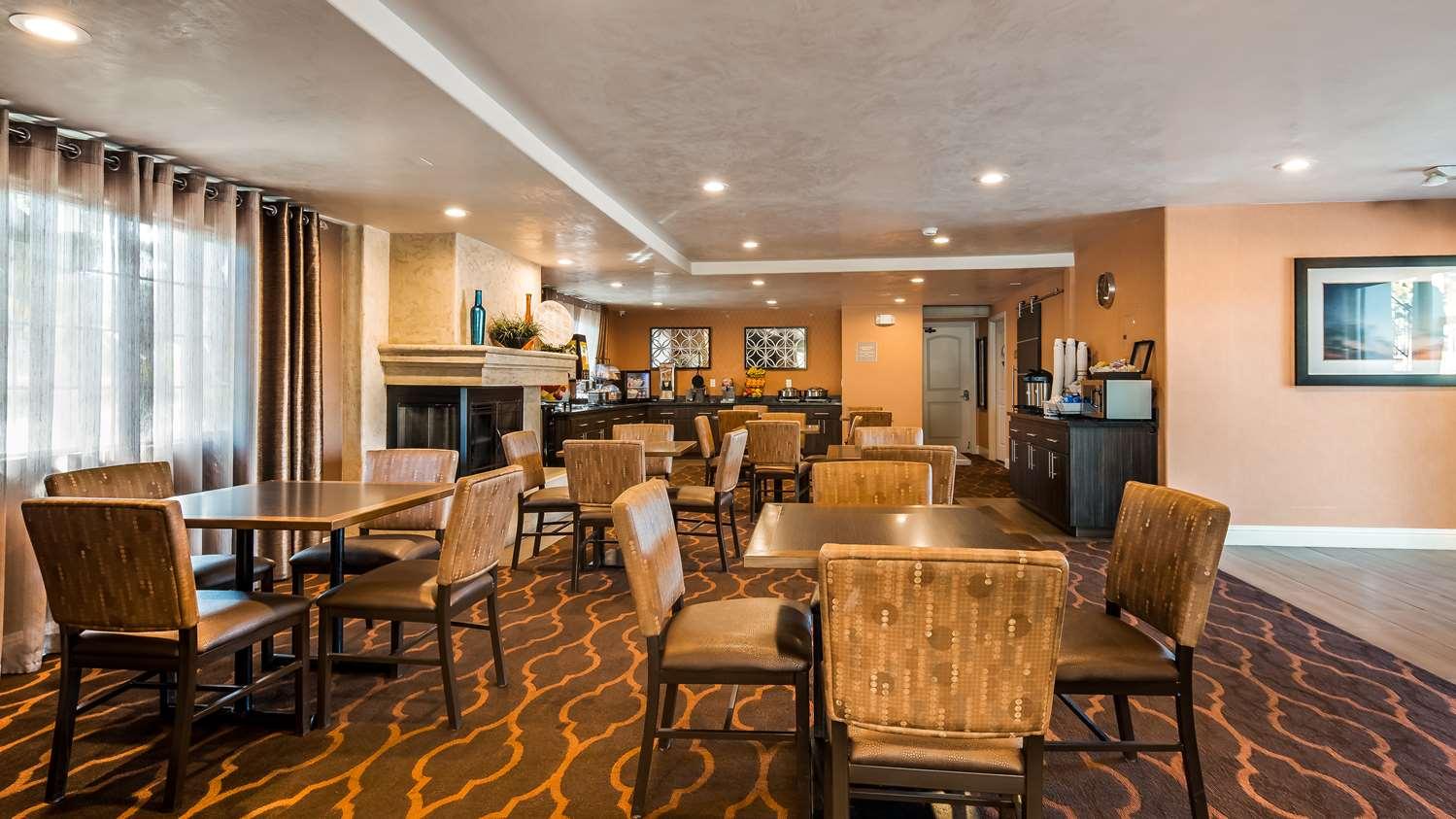 Restaurant - Best Western Santa Clara University Inn
