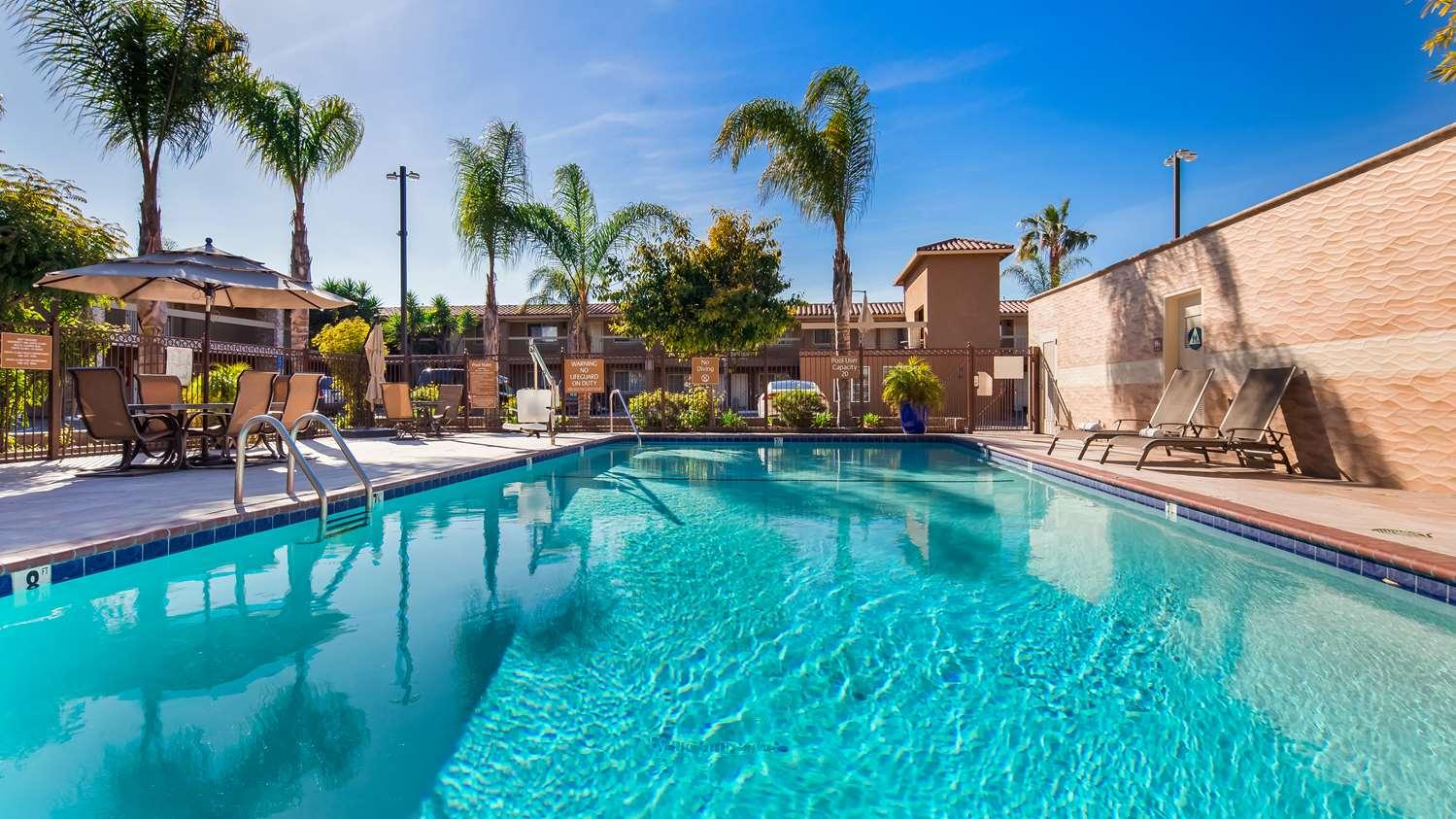 Pool - Best Western Santa Clara University Inn
