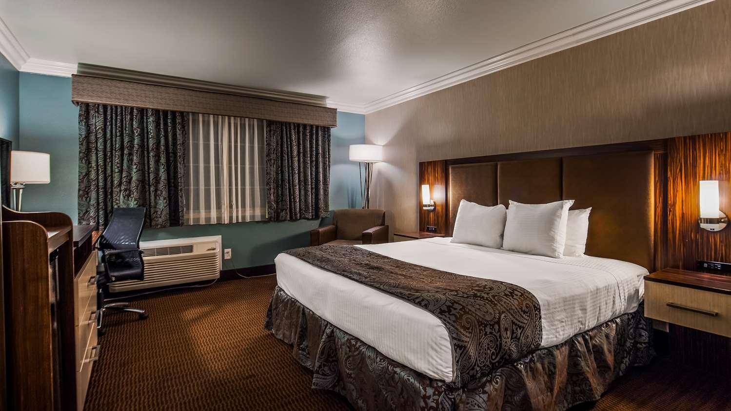 Room - Best Western Santa Clara University Inn
