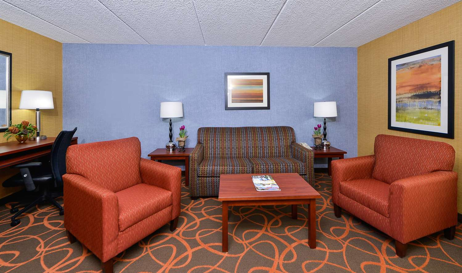 Suite - Best Western Plus Fresno Airport Hotel