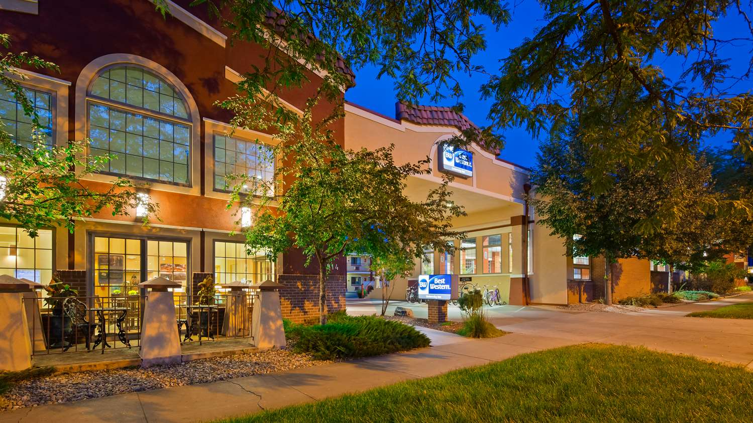 Exterior view - Best Western University Inn Fort Collins