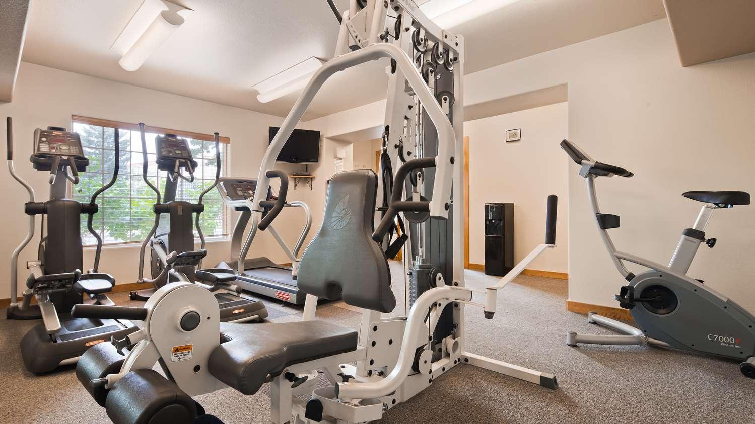 Fitness/ Exercise Room - Best Western University Inn Fort Collins