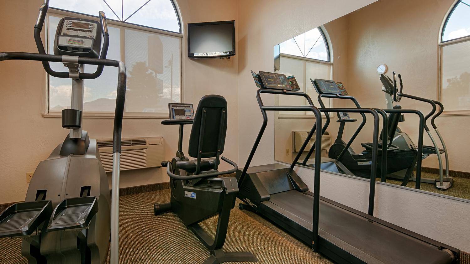 Fitness/ Exercise Room - Best Western Grande River Inn & Suites Clifton