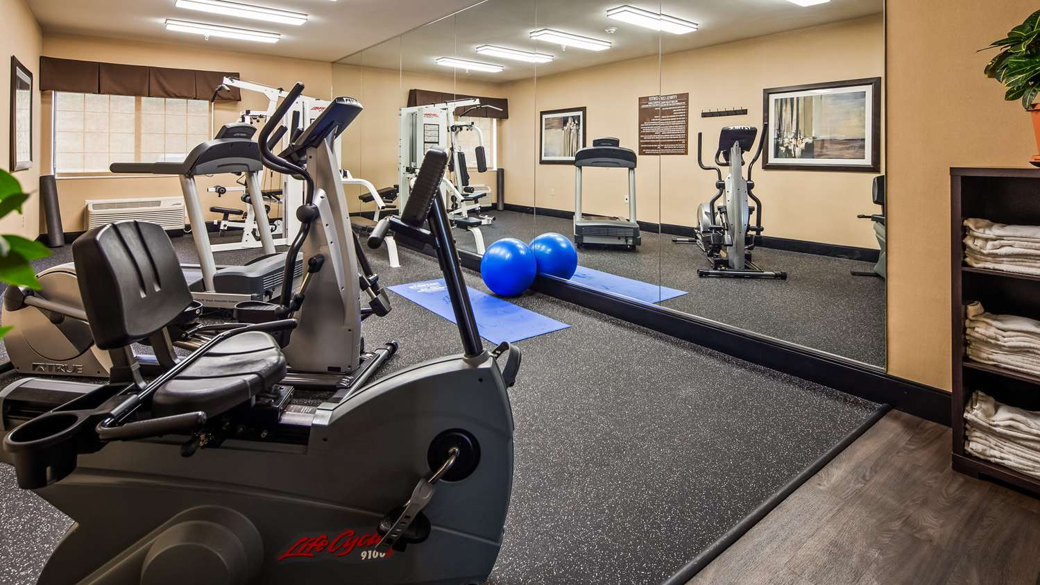 Fitness/ Exercise Room - Best Western Plus Castle Rock Hotel