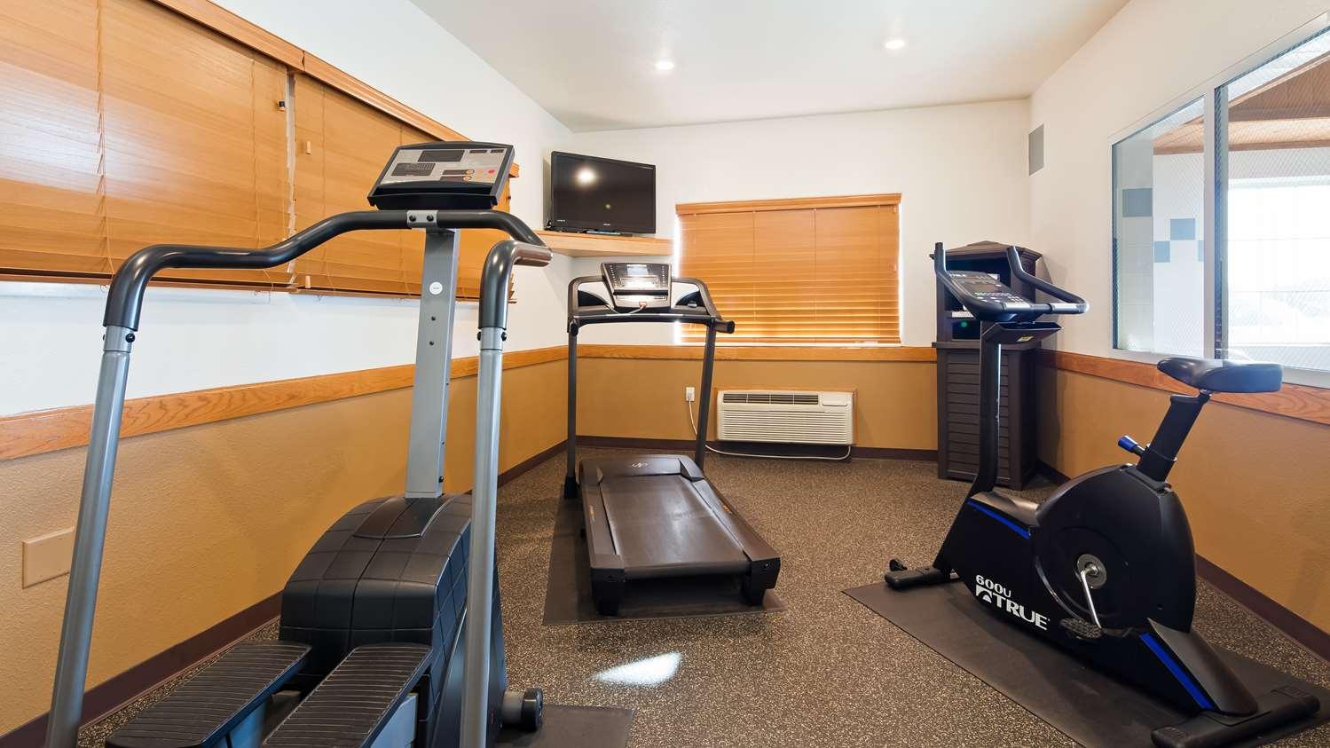 Fitness/ Exercise Room - Best Western Firestone Inn & Suites