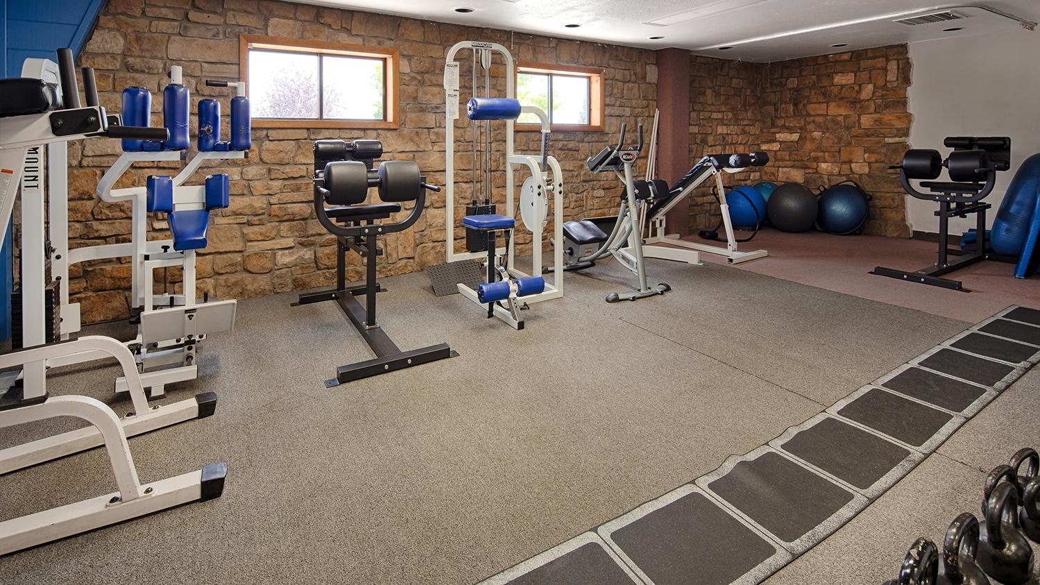 Fitness/ Exercise Room - Best Western Plus Deer Park Inn & Suites Craig