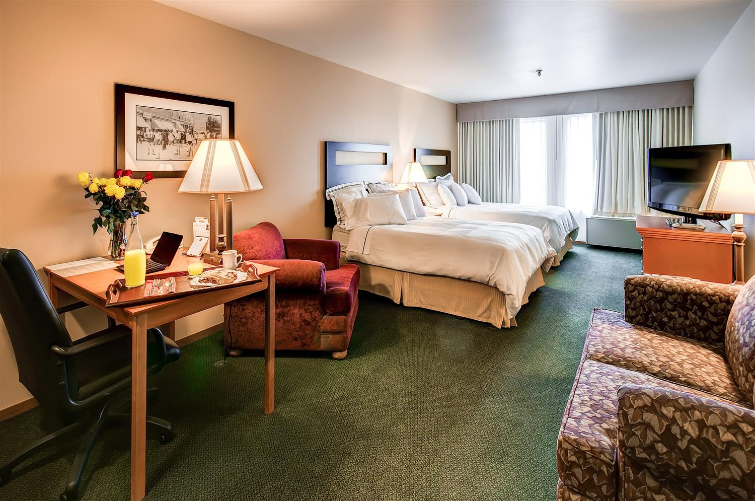 Room - Best Western Plus Plaza Hotel Longmont