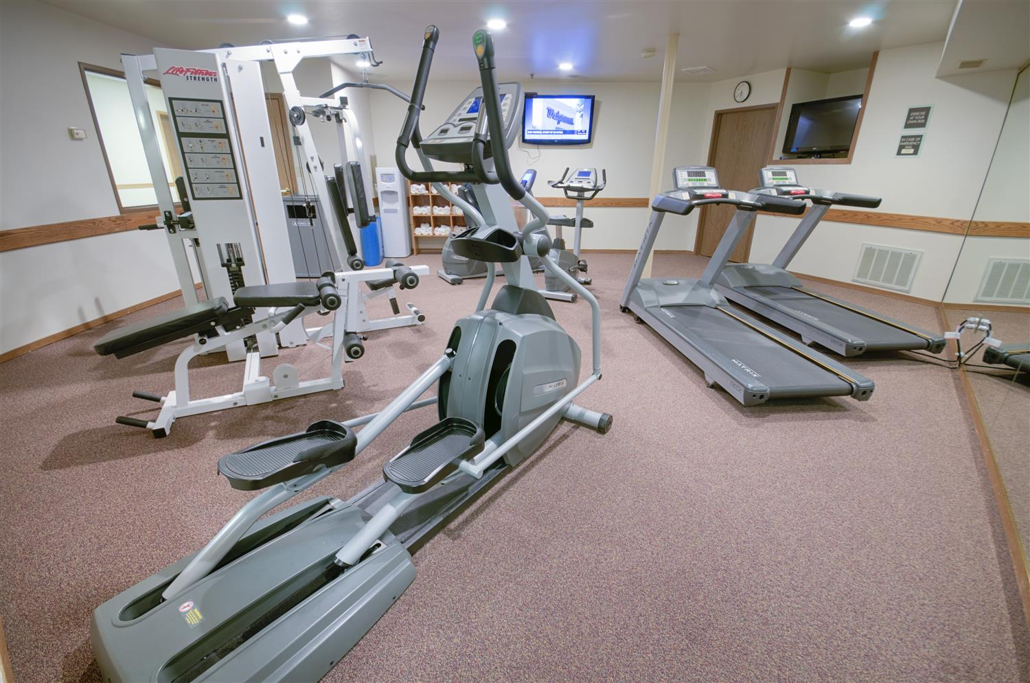 Fitness/ Exercise Room - Best Western Plus Plaza Hotel Longmont