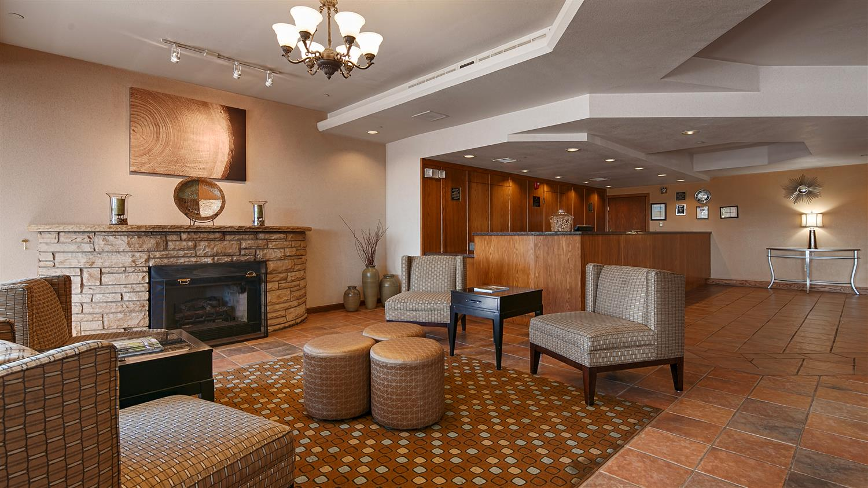 Lobby - Best Western Plus Plaza Hotel Longmont