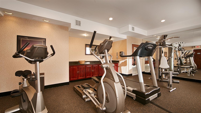 Fitness/ Exercise Room - Best Western Plus Louisville Inn & Suites