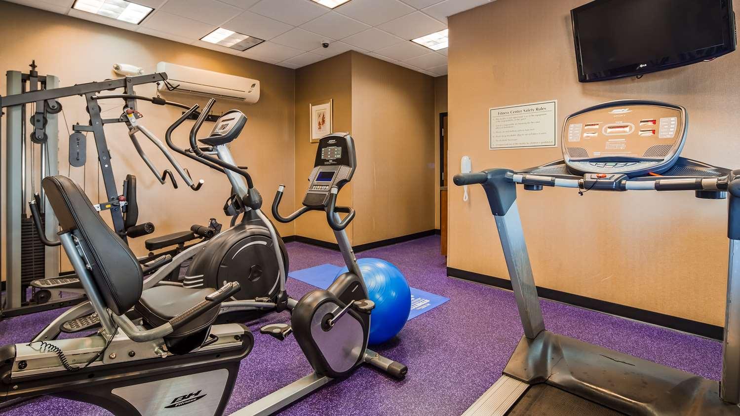 Fitness/ Exercise Room - Best Western Plus Carousel Inn Burlington