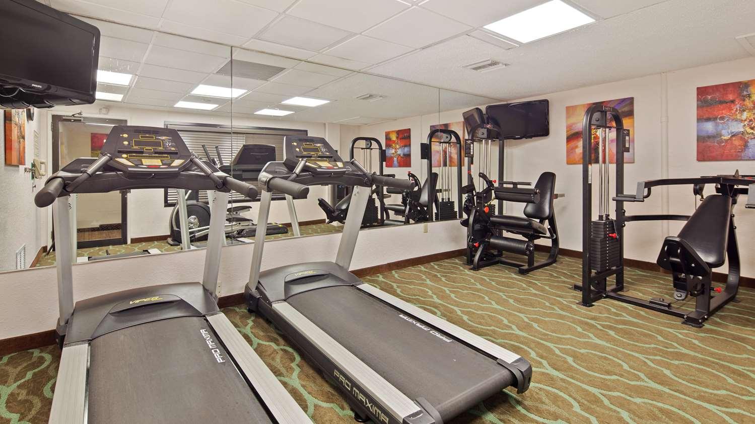 Fitness/ Exercise Room - Best Western Plus University Inn Boca Raton