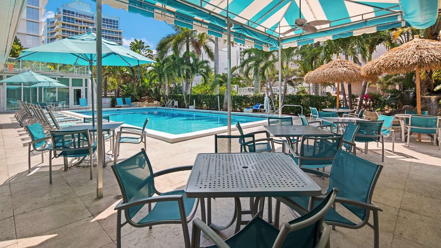 Pool - Best Western Plus Oceanside Inn Fort Lauderdale