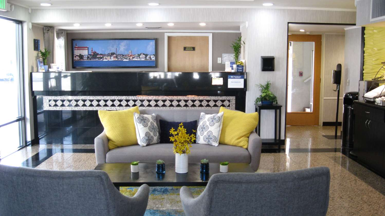 Lobby - Best Western Historical Inn St Augustine