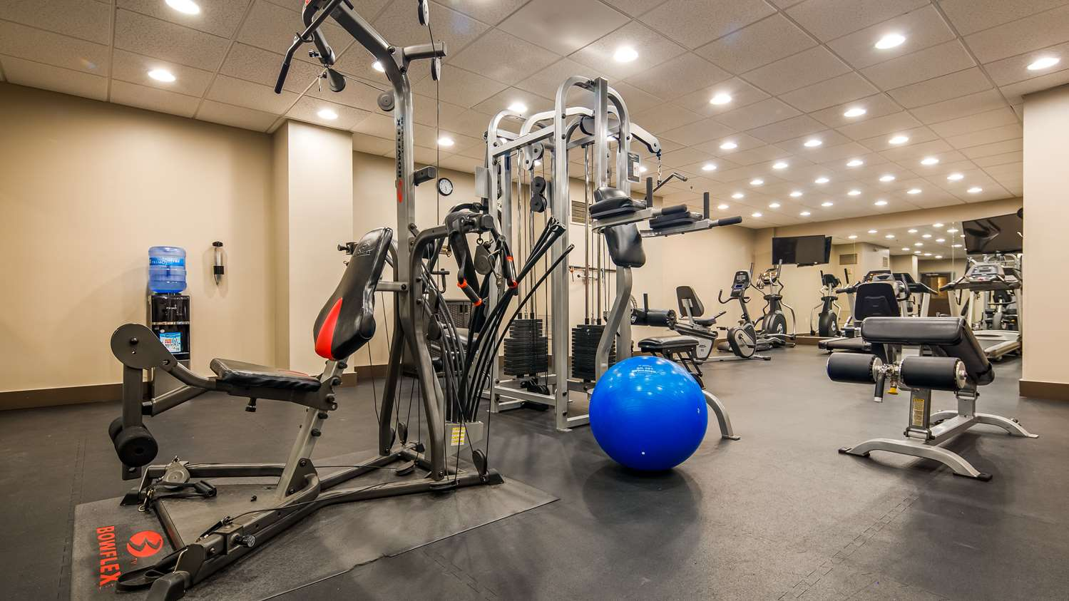 Fitness/ Exercise Room - Best Western Naples Plaza Hotel
