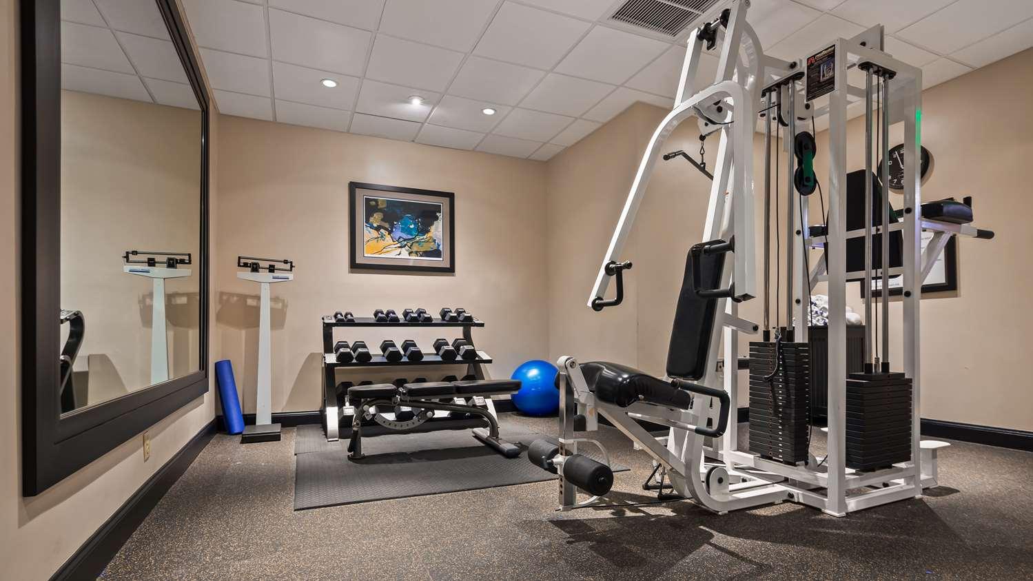 Fitness/ Exercise Room - Best Western Plus Hotel Hallandale Beach