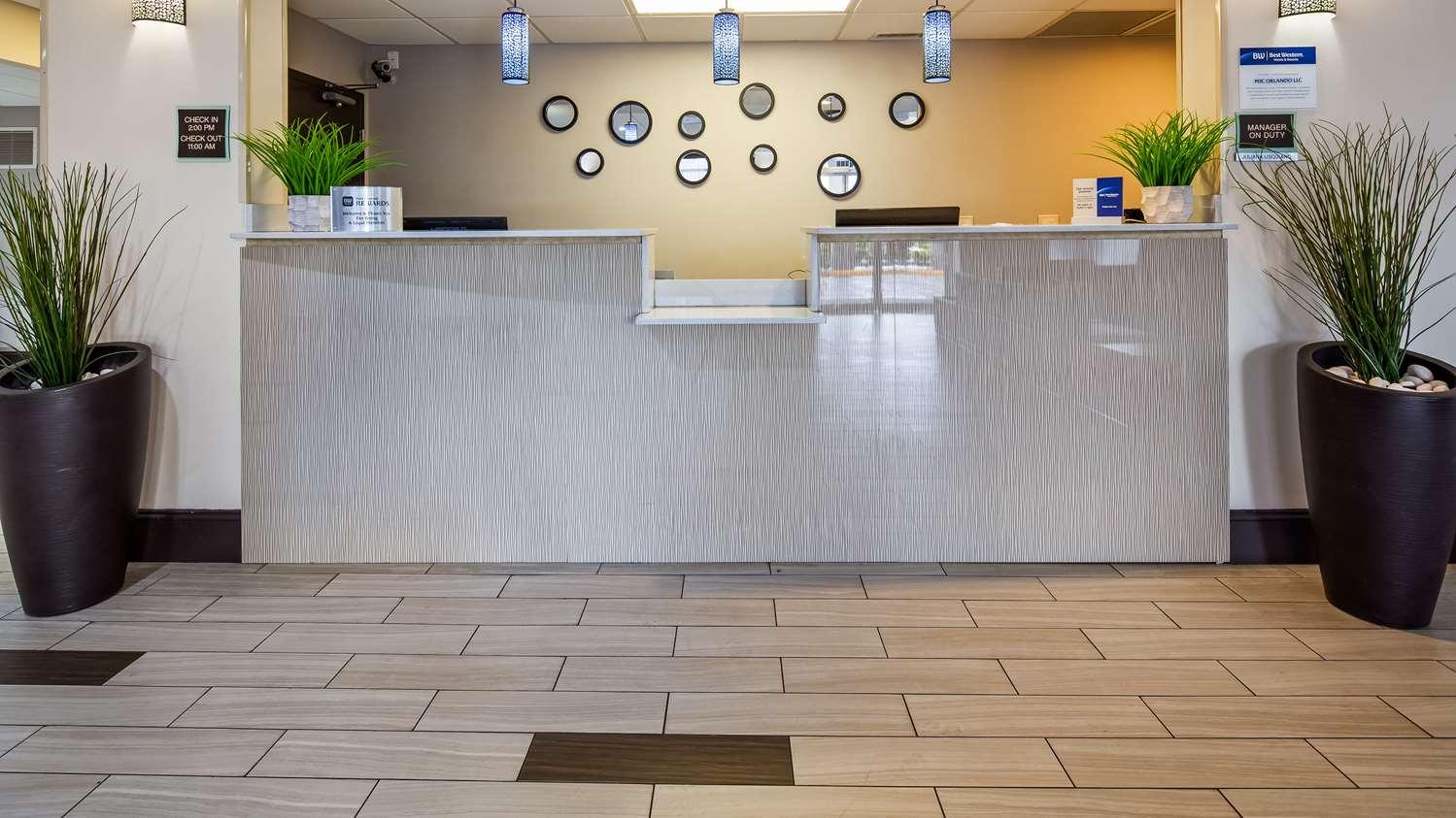 Lobby - Best Western Orlando Airport Inn & Suites