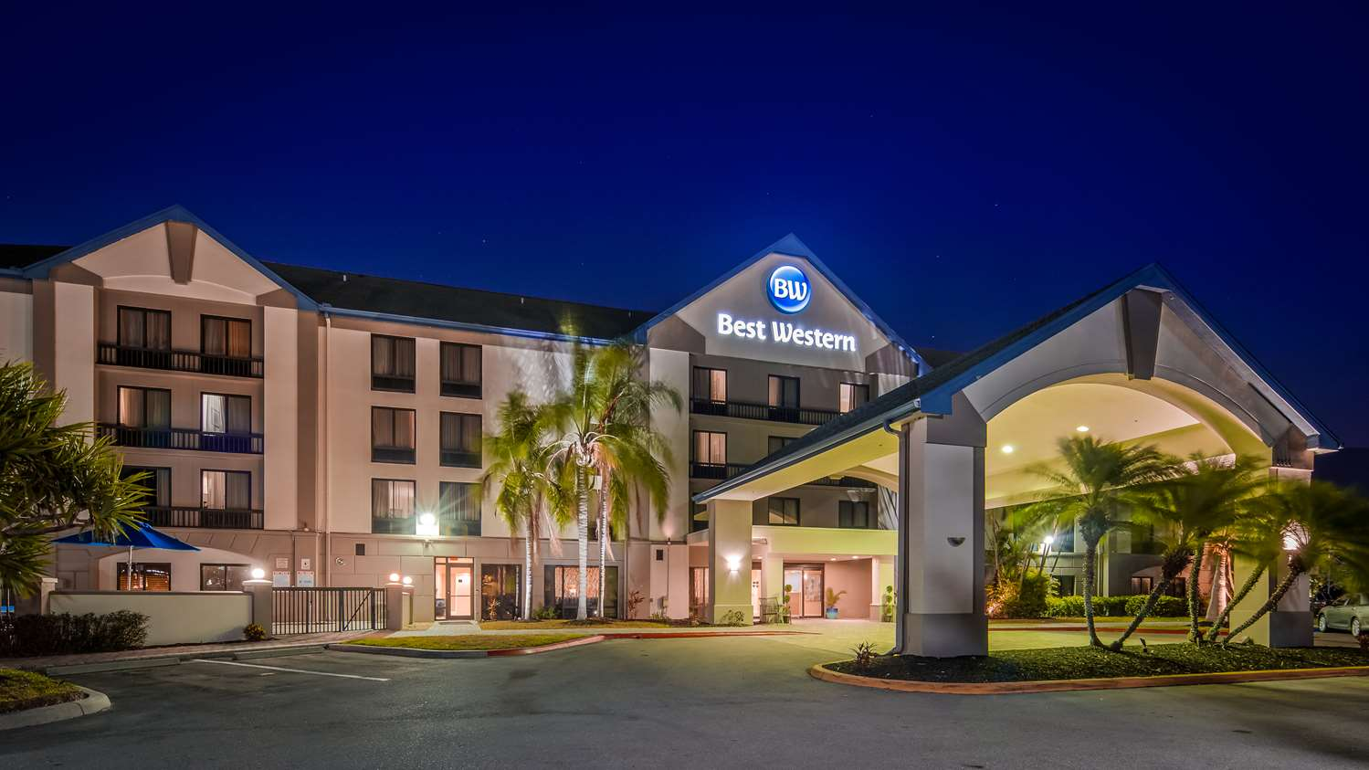 Exterior view - Best Western Airport Inn Fort Myers