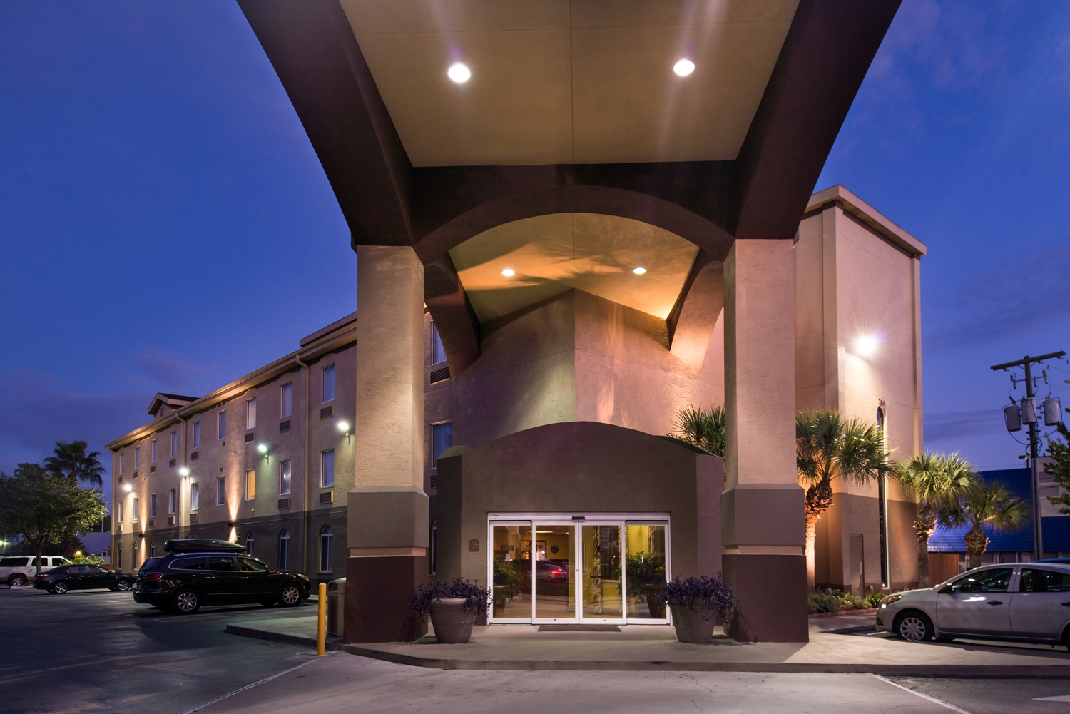 Exterior View Best Western Hotel Tampa
