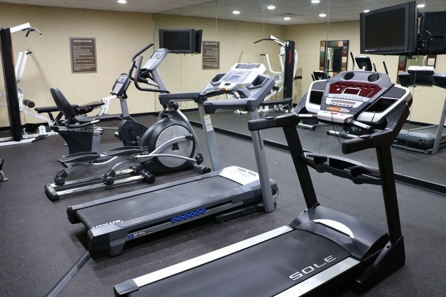 Fitness/ Exercise Room - Best Western Downtown Stuart