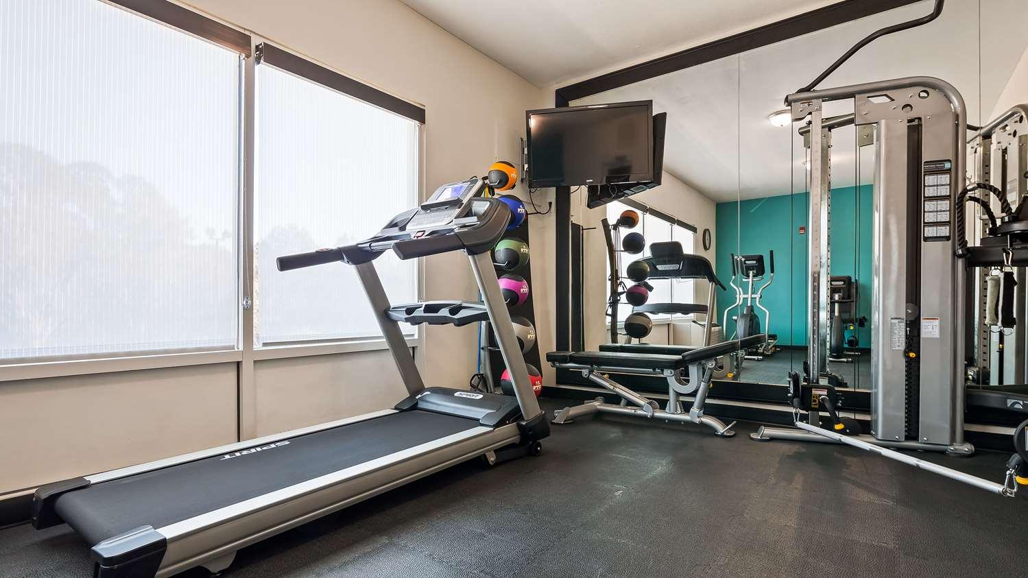 Fitness/ Exercise Room - Best Western Plus Blue Angel Inn Pensacola
