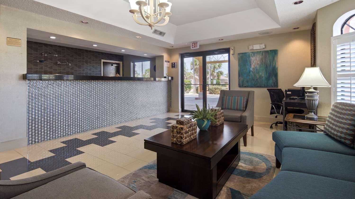 Lobby - Best Western St Augustine Beach Inn