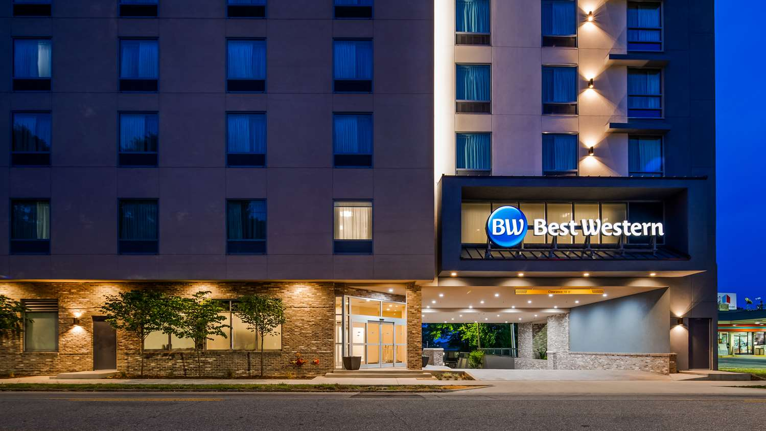 Exterior view - Best Western Athens Inn