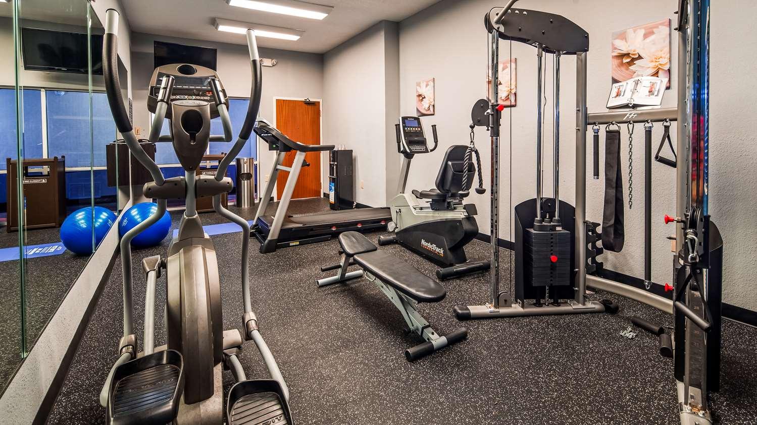Fitness/ Exercise Room - Best Western Gwinnett Center Inn Duluth