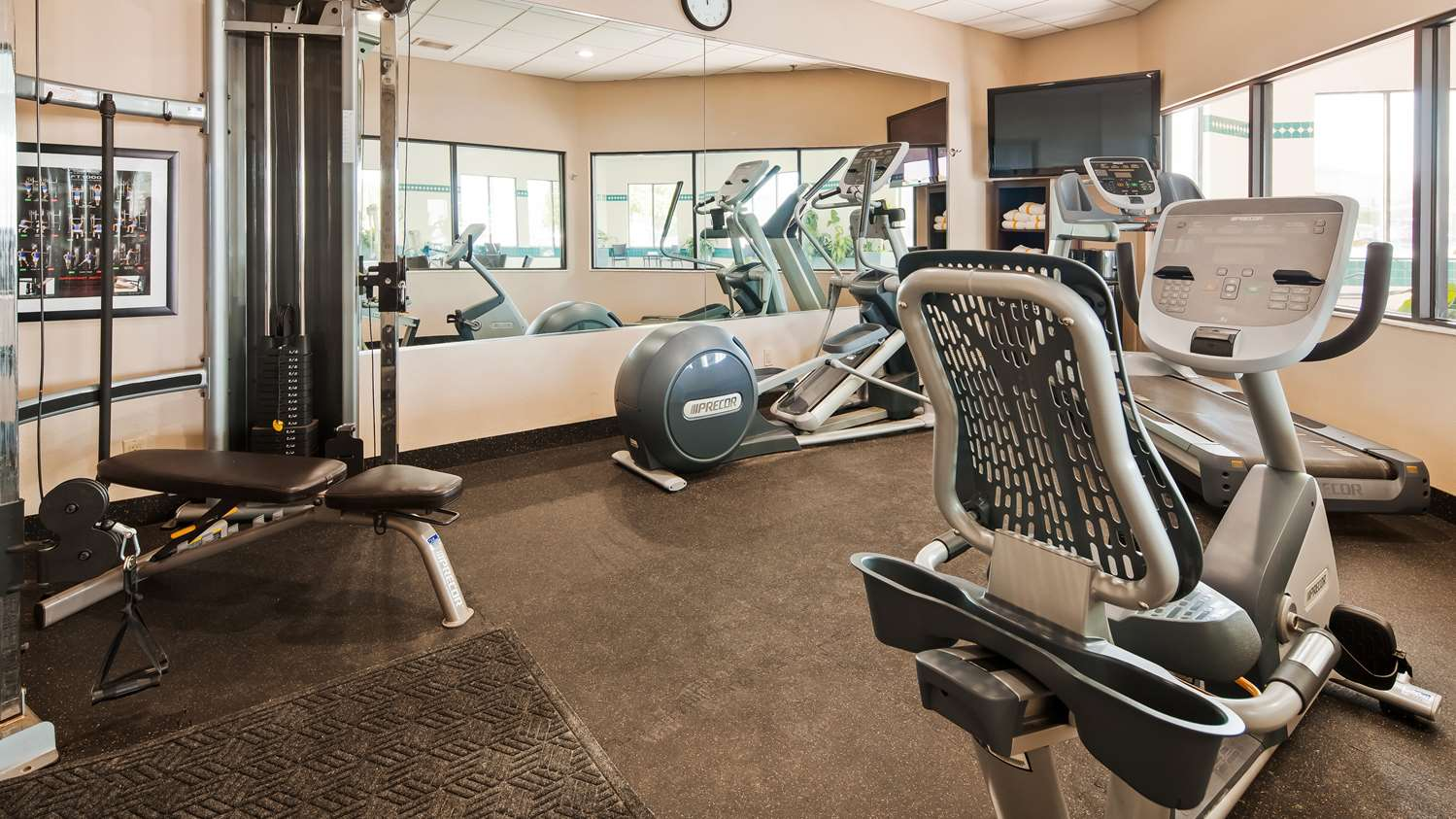 Fitness/ Exercise Room - Best Western Plus Cottontree Inn Idaho Falls