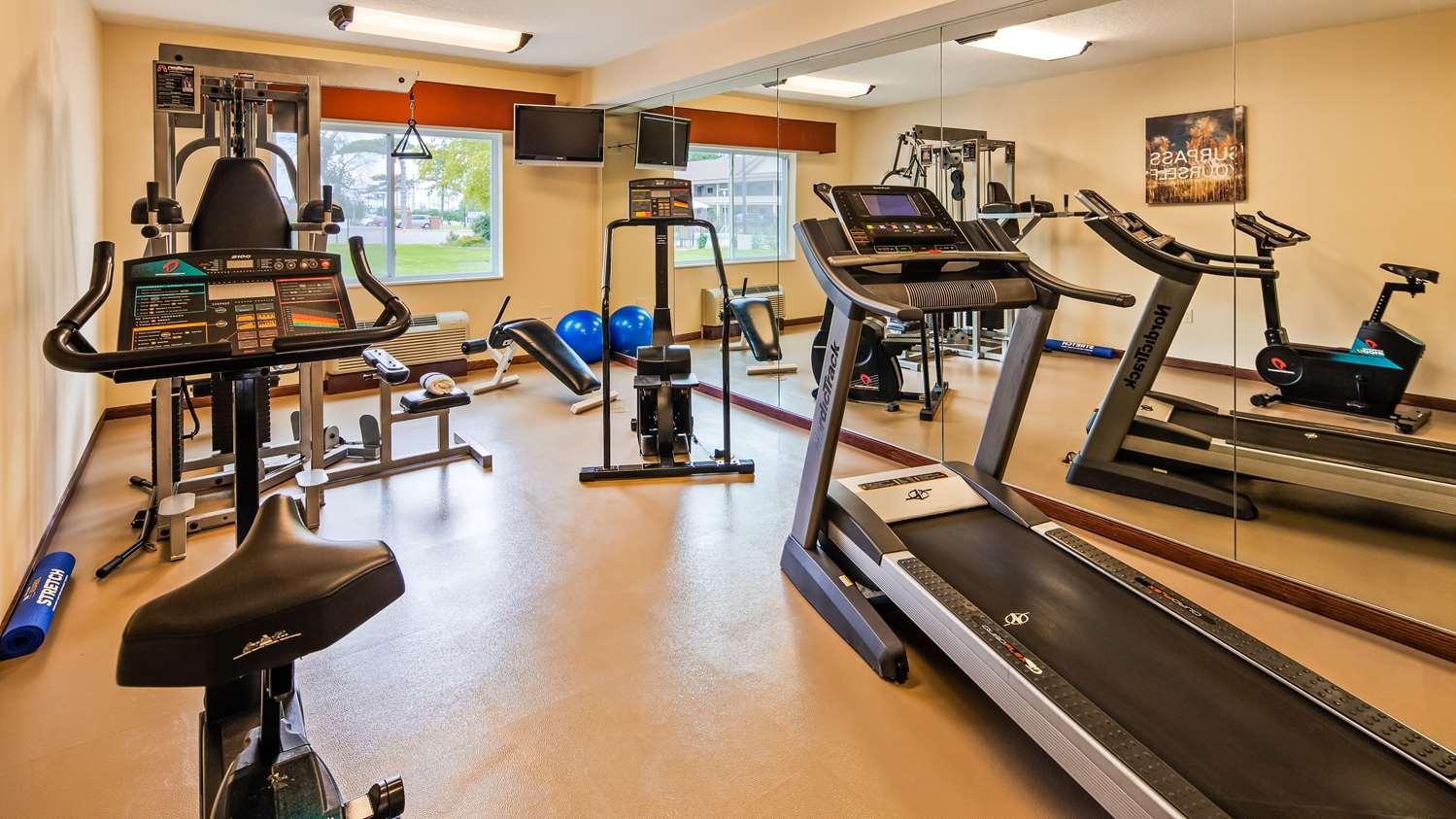Fitness/ Exercise Room - Best Western Paradise Inn Savoy