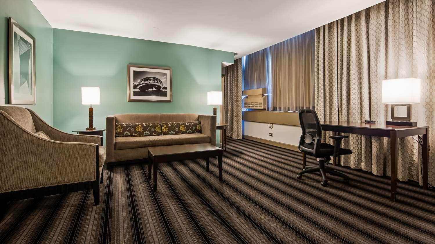 Suite - Best Western River North Hotel Chicago