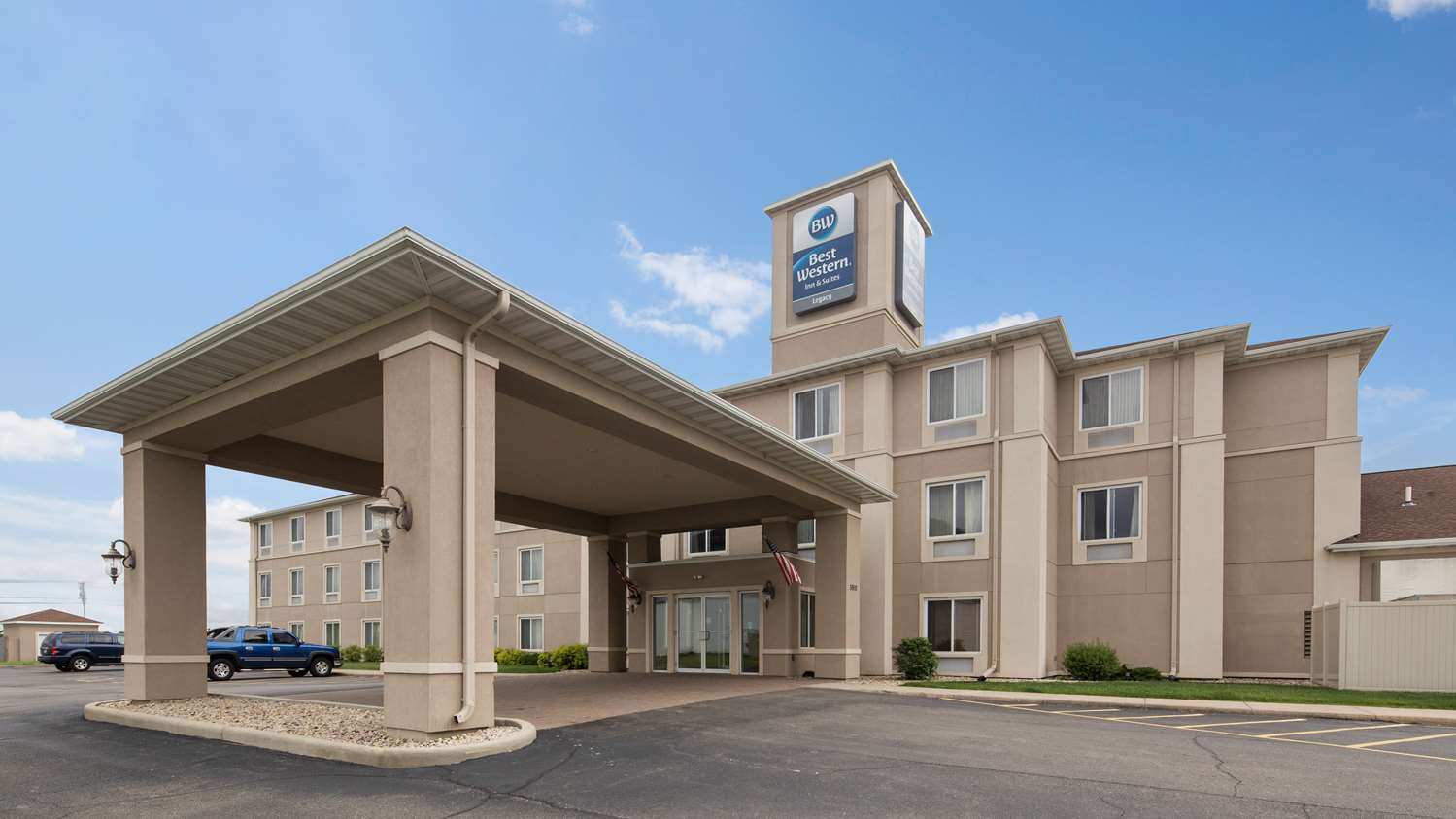 Exterior view - Best Western Legacy Inn & Suites South Beloit