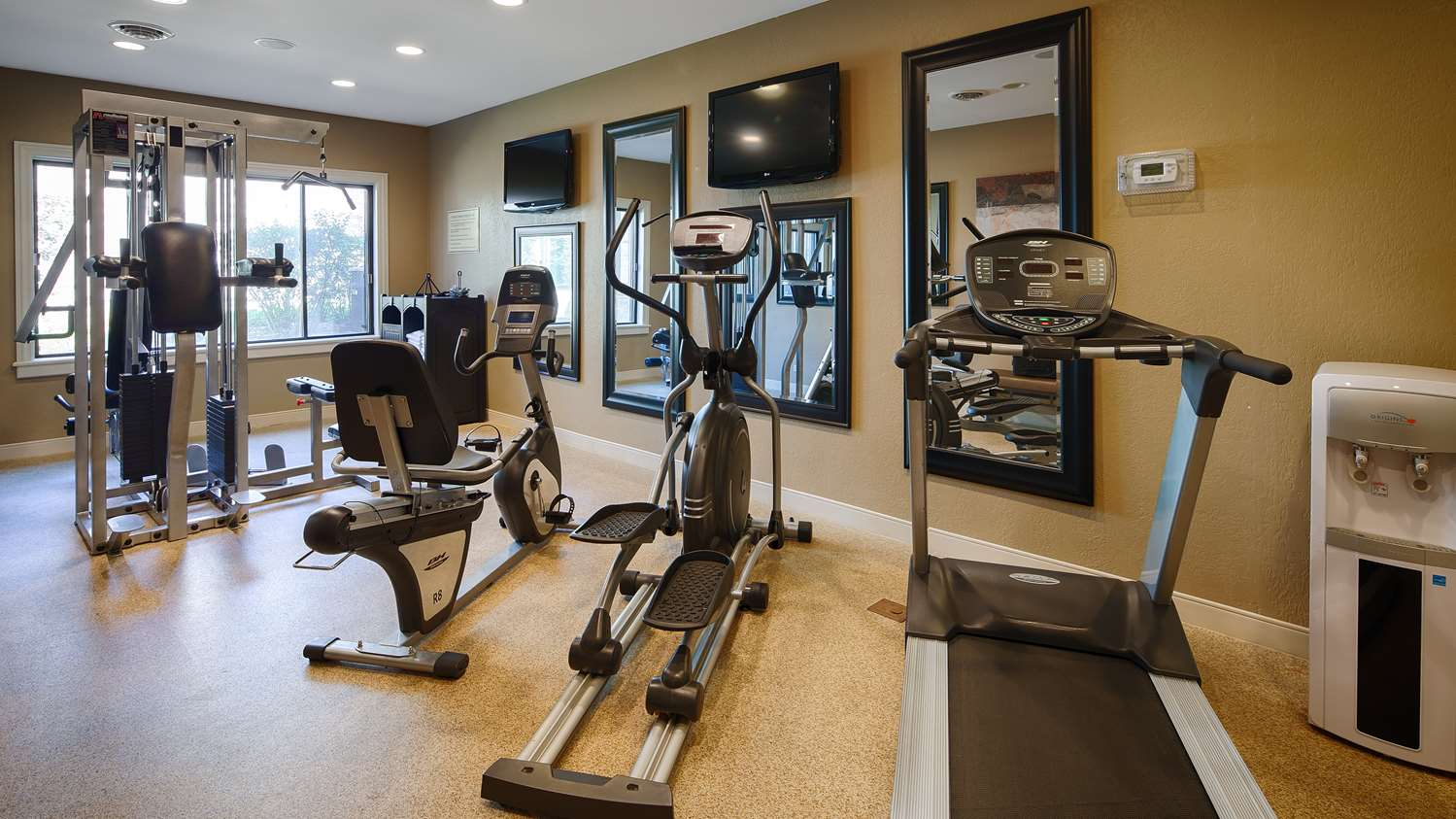 Fitness/ Exercise Room - Best Western Plus Antioch Hotel & Suites