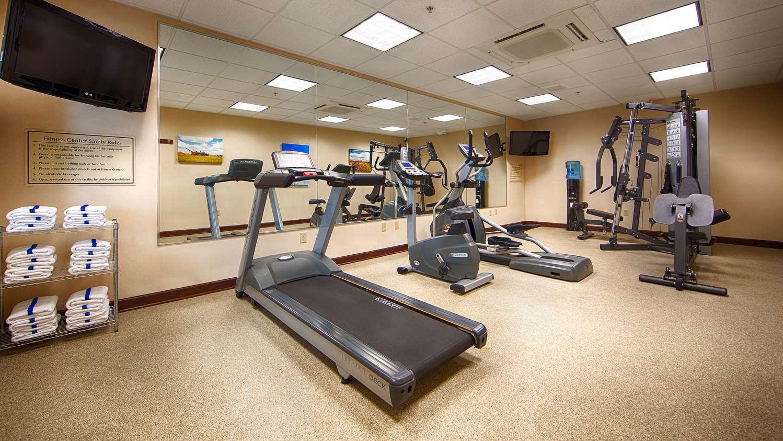 Fitness/ Exercise Room - Best Western Plus Green Mill Village Inn Arcola