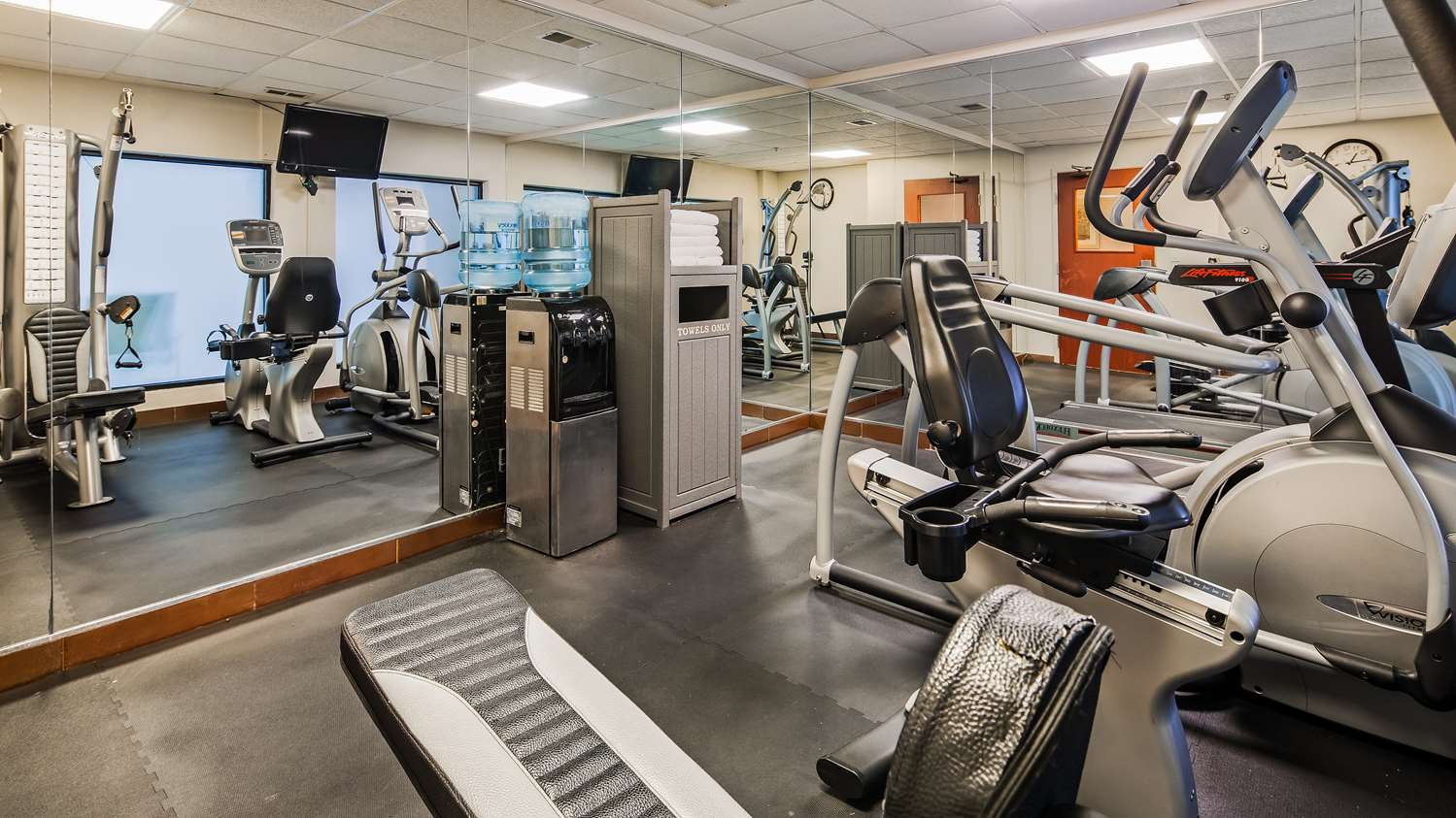 Fitness/ Exercise Room - Best Western Plus O'Hare South Hotel Franklin Park