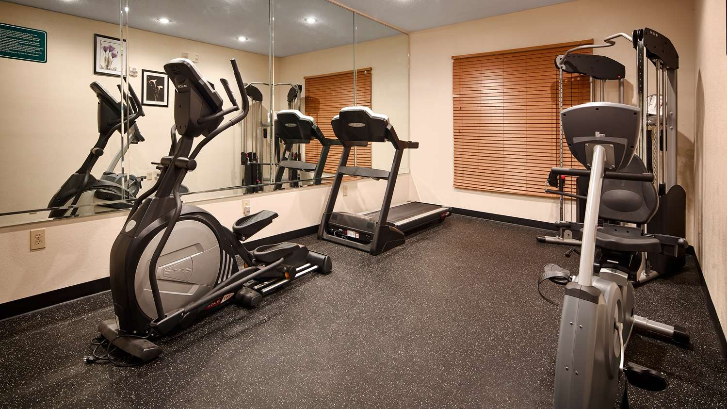 Fitness/ Exercise Room - Best Western Inn & Suites Airport Indianapolis