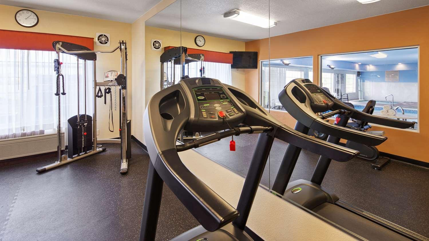Fitness/ Exercise Room - Best Western Plus Fort Wayne Inn