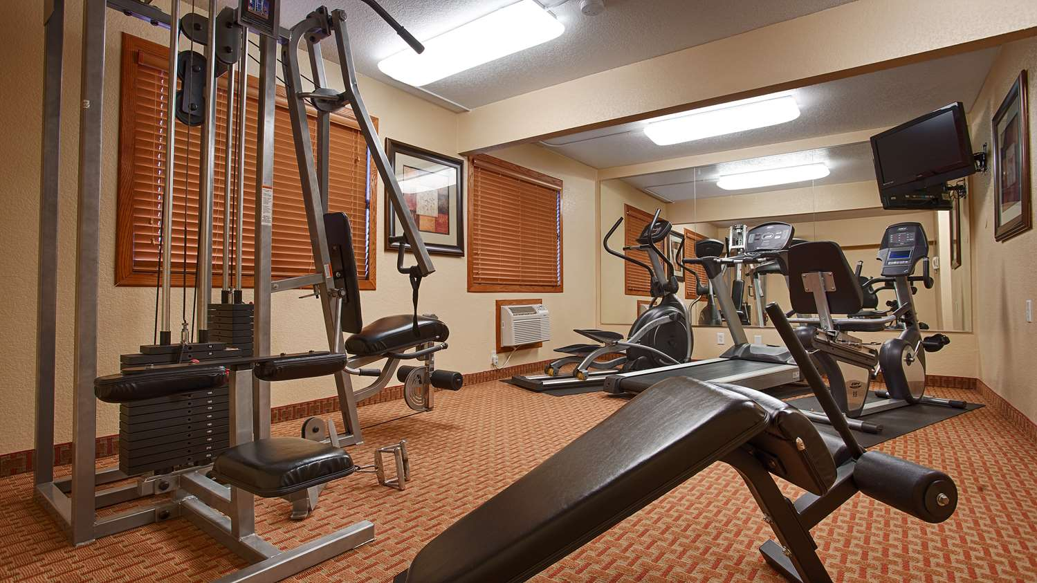 Fitness/ Exercise Room - Best Western Plus Altoona Inn