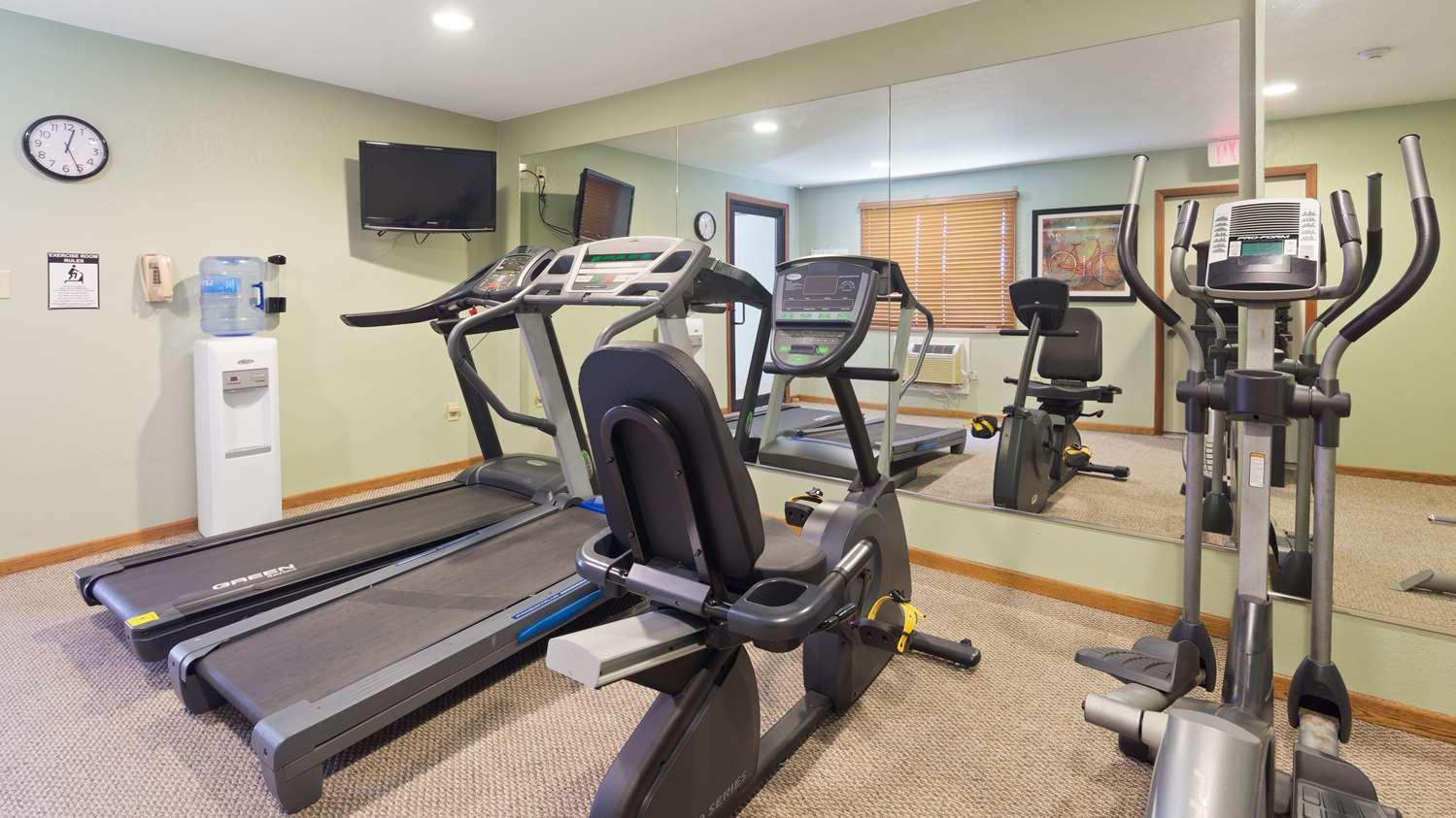 Fitness/ Exercise Room - Best Western Mt Pleasant Inn