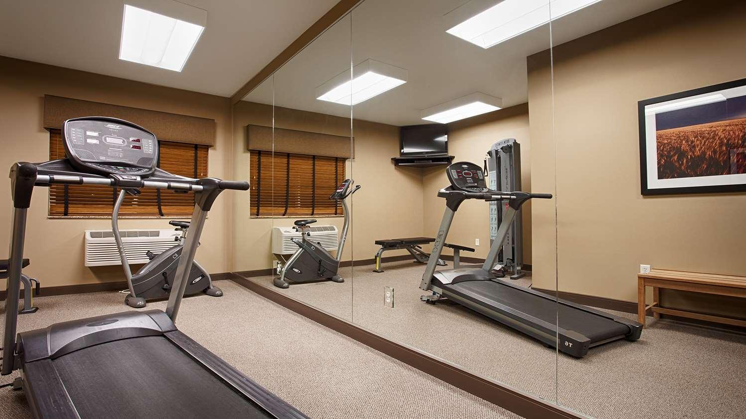 Fitness/ Exercise Room - Best Western Plus Night Watchman Inn & Suites Greensburg