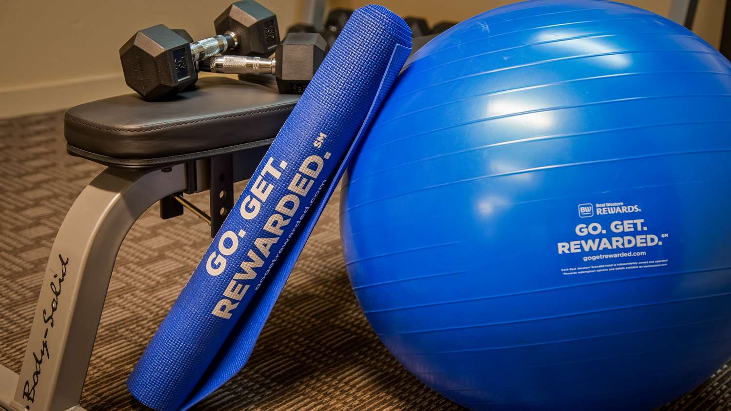 Fitness/ Exercise Room - Best Western Governors Inn & Suites Wichita