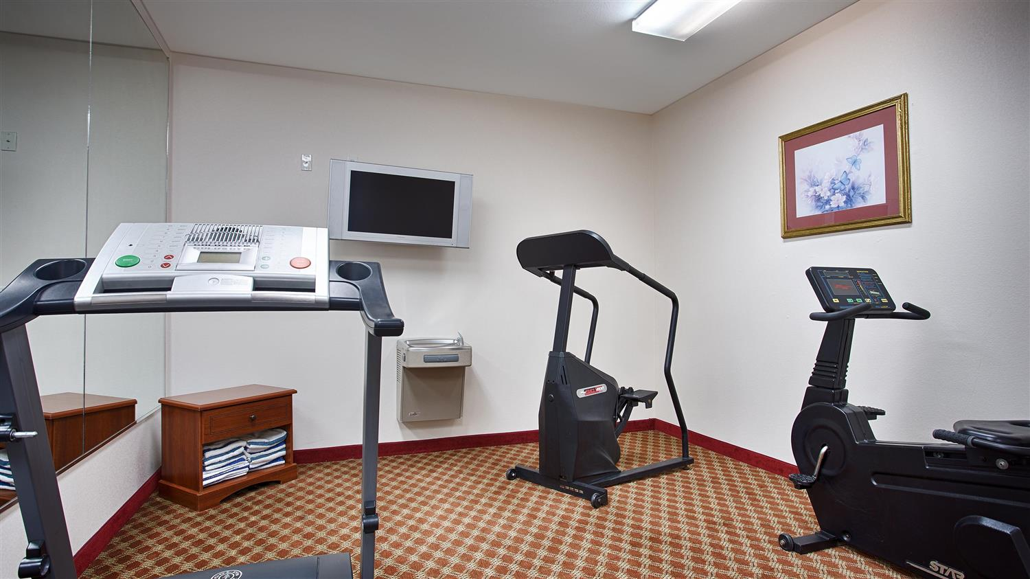 Fitness/ Exercise Room - Best Western Plus WaKeeney Inn & Suites