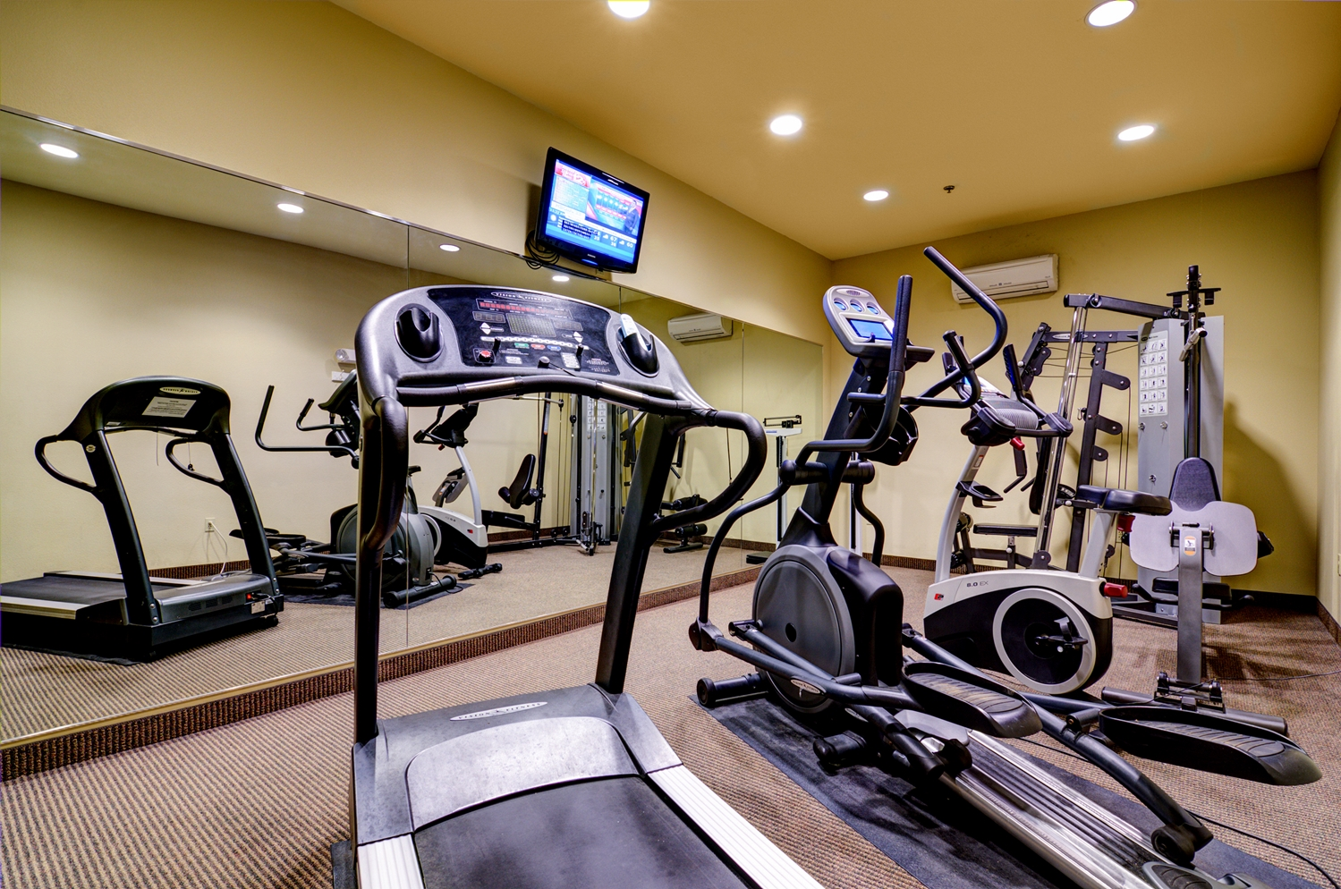 Fitness/ Exercise Room - Best Western Plus Butterfield Inn Hays