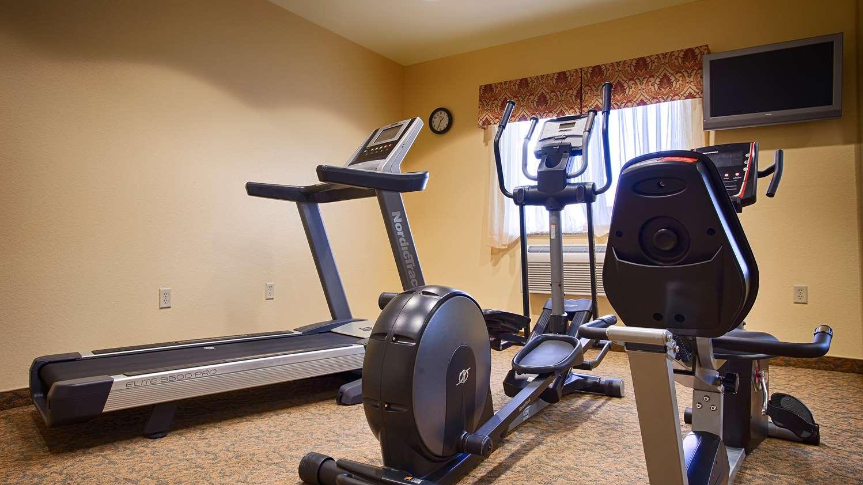 Fitness/ Exercise Room - Best Western El Quartelejo Inn Scott City