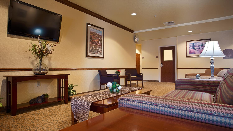 Lobby - Best Western El Quartelejo Inn Scott City