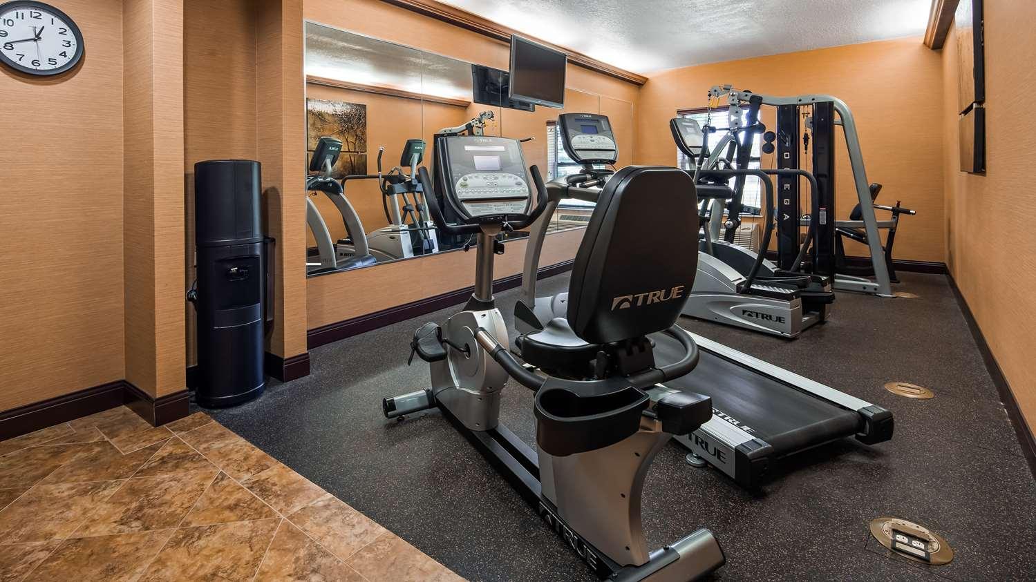 Fitness/ Exercise Room - Best Western Plus Midwest Inn & Suites Salina